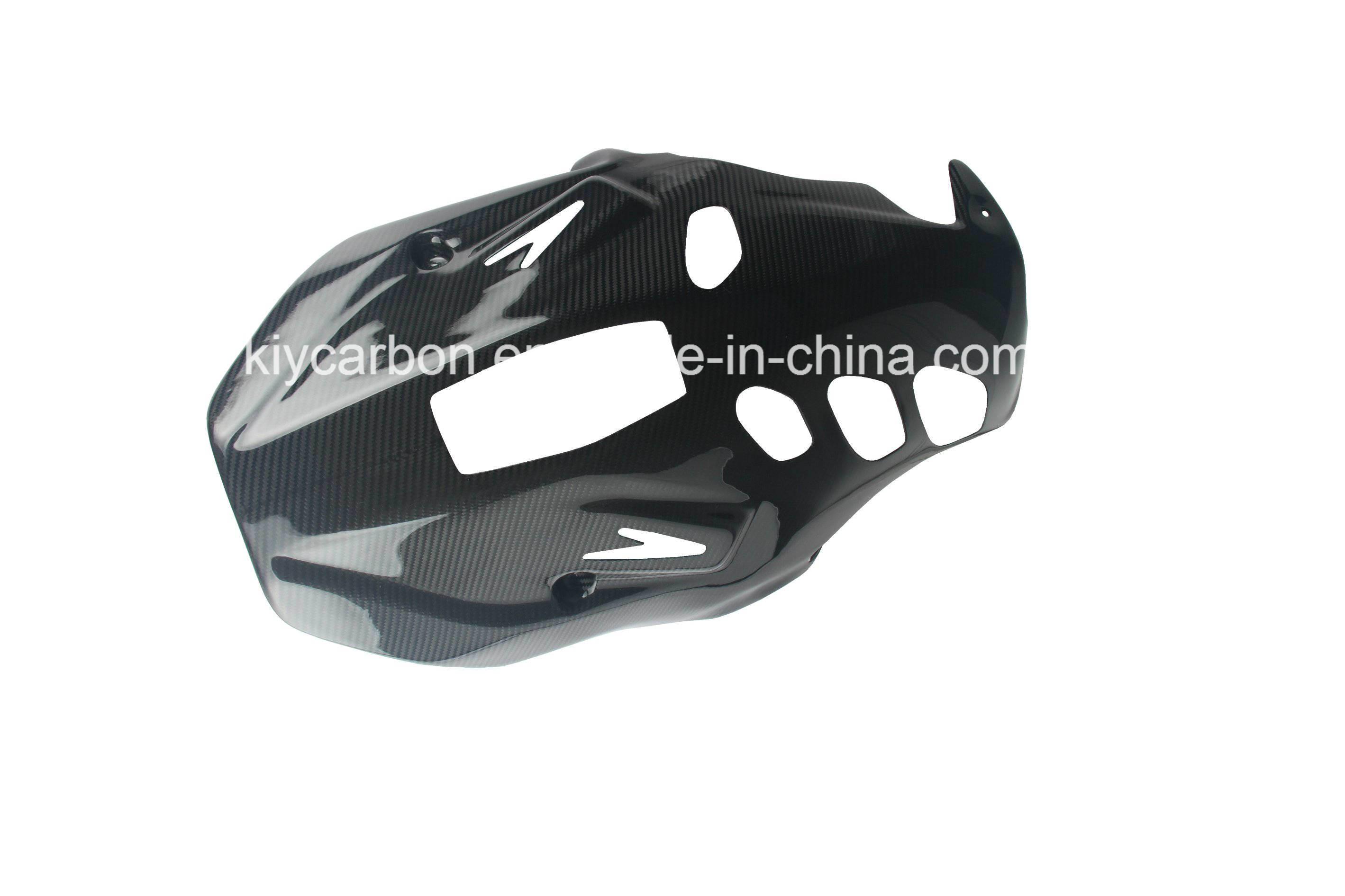 Twill Carbon Fiber Belly Pan Tuning for Suzuki B-King 07-11