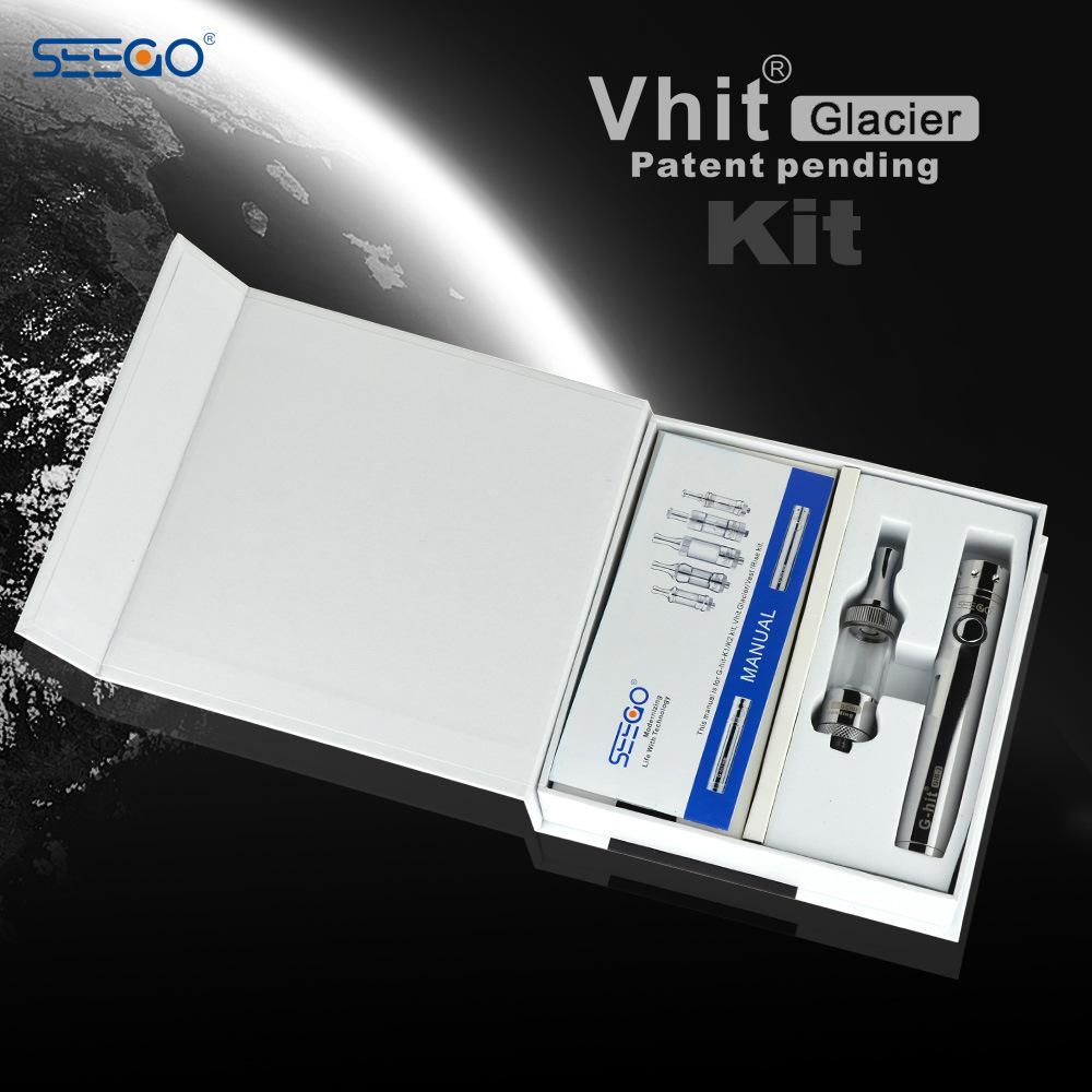Seego Patented E Cig Vaporizer Cigarette for Wax Secret Design