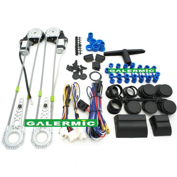 Car Electrical Window Kits with Two Doors Power Window Kits