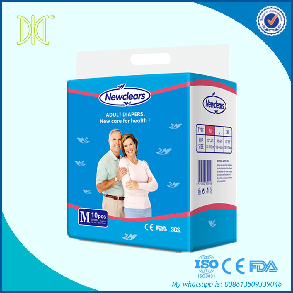 Premium Care Discreet Disposable Adult Nappies Diaper for Elderly