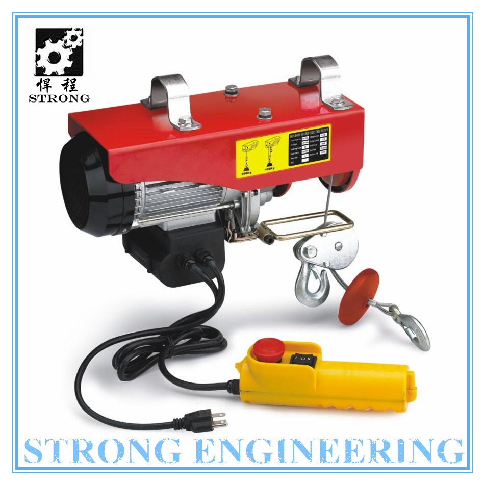 Light Duty Fast Lifting Speed Electric Chain Hoist