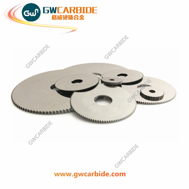 Tungsten Carbide Saw Blade Carbide Slitting Cutters