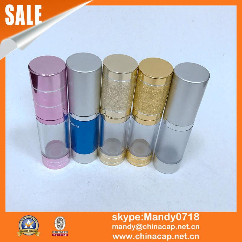 Airless Pump Dispenser Perfume Bottle Cosmetics Mockups