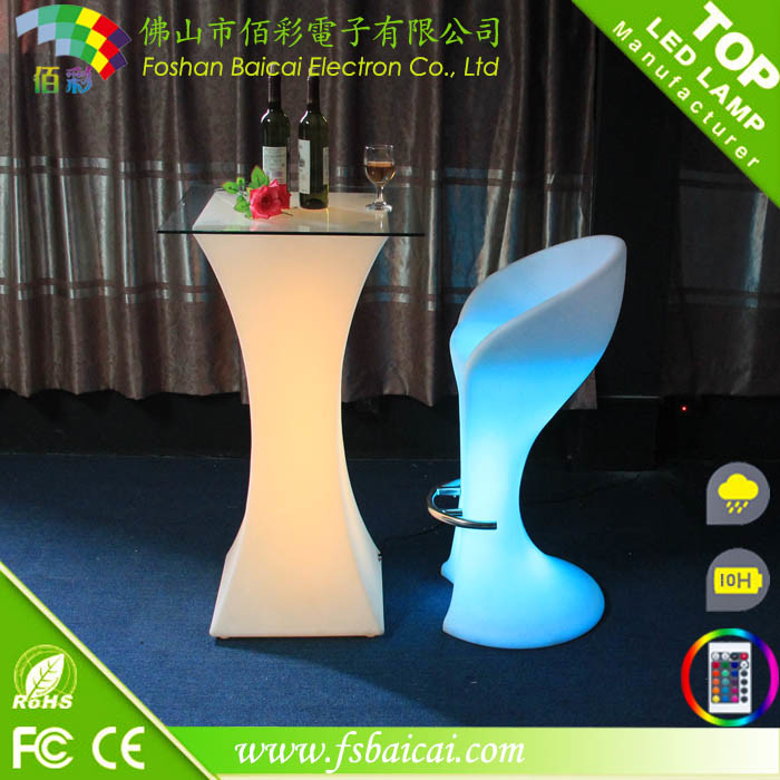 Wedding Flashing LED Table, Reception Desk, LED Illuminated Table