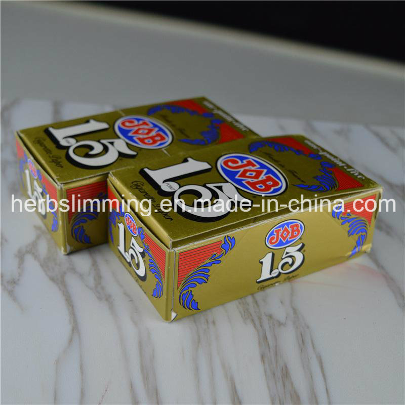 Cigarette Job 1.5 Smoking Rolling Papers Slow Burning Herbing Rolling Paper 24 Booklets/Box