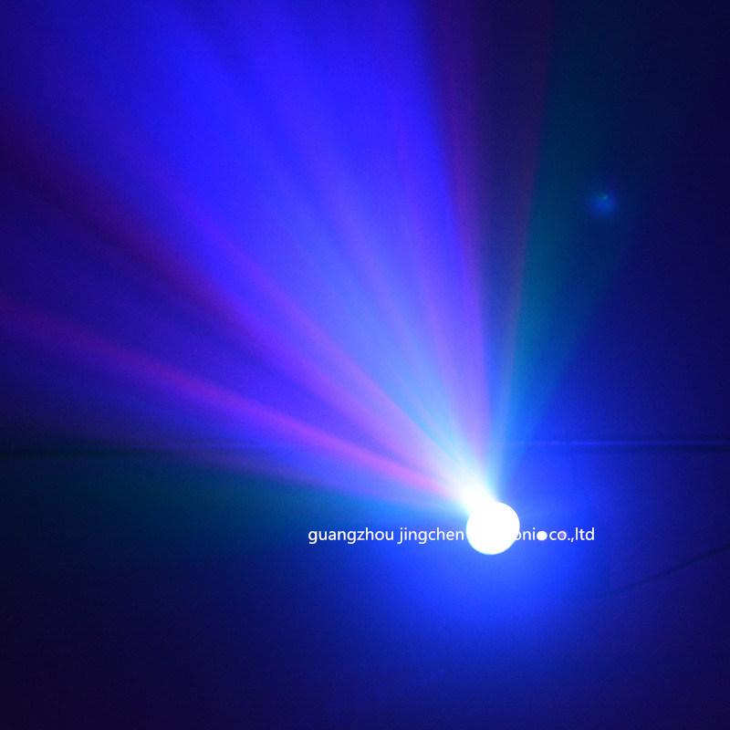 Double Hole LED+Rg DMX Laser Light