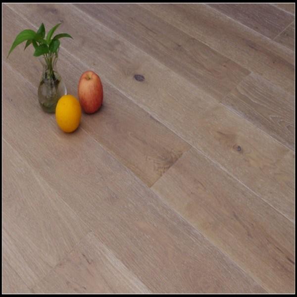 Smoked&Brushed White Oiled Oak Engineered Hardwood Flooring