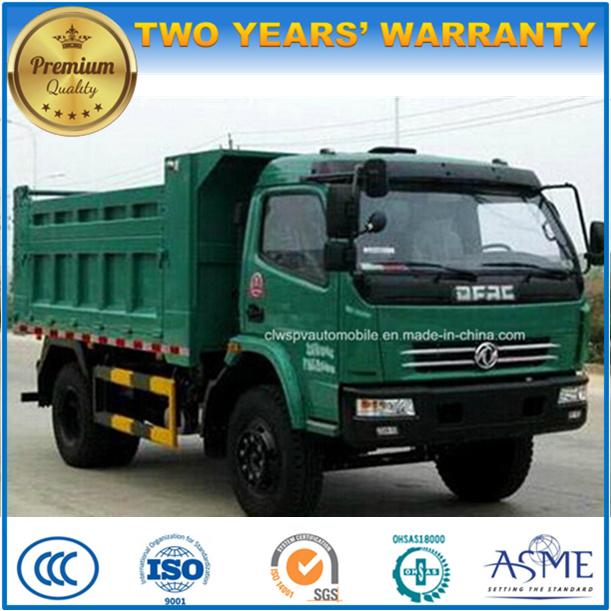 Small Dongfeng 4X4 Hotsale 5 T LHD & Rhd Dump Truck Price