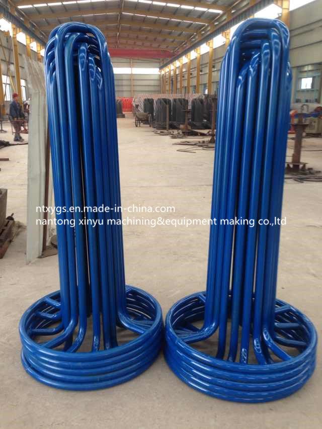 Factory Outlet Blue Round Base Steel Wire Carrier