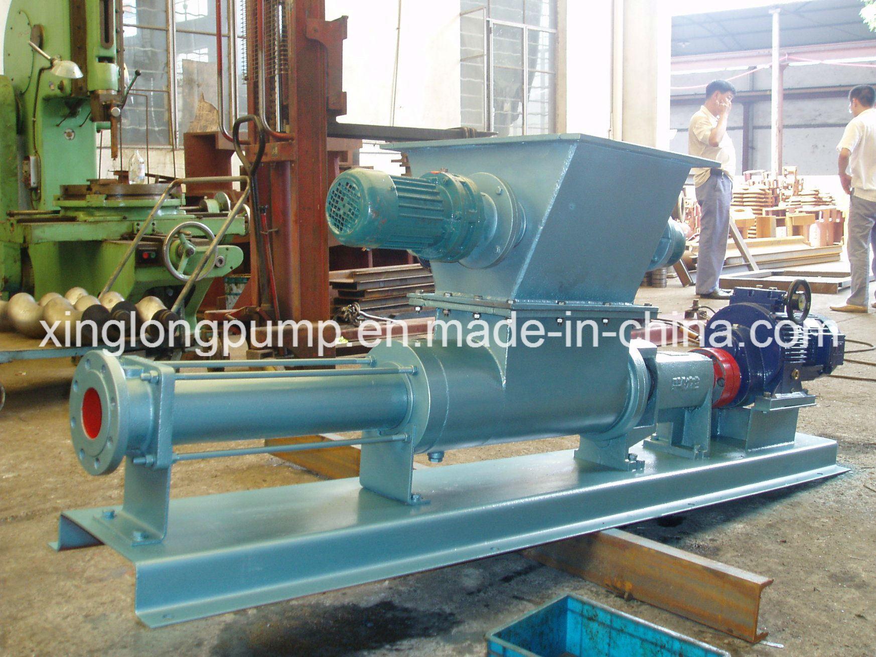 Professional Single Screw Pump with Ce Certificate