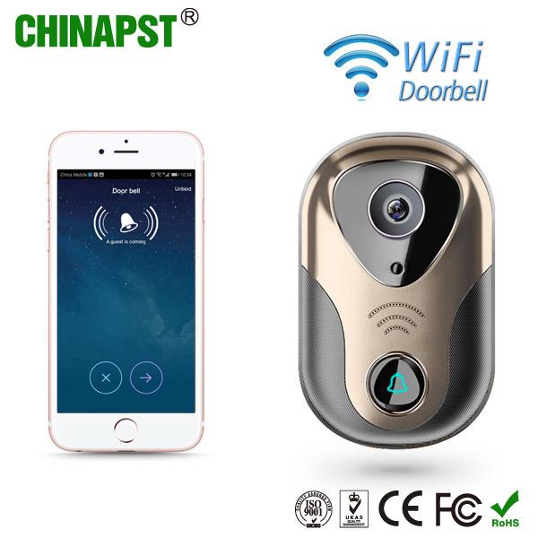 Cat5 Connection WiFi Smart Video Door Phone/Intercom (PST-WiFi007)