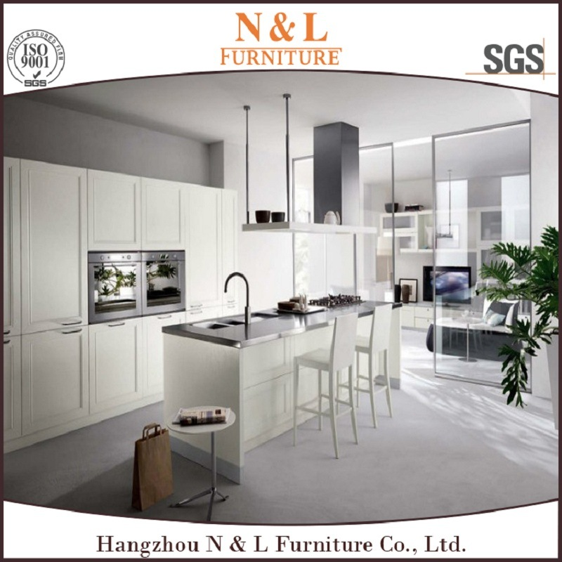Modern Style Wooden Home Furniture PVC Wood Kitchen Cabinet