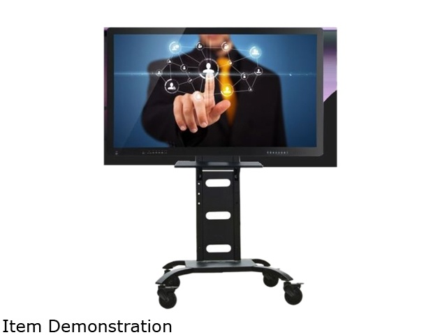 Universal Movable TV Stand with Tray and