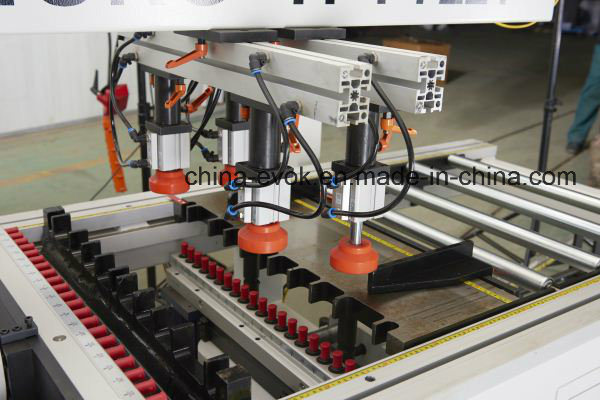 Woodworking Automatic Multi-Drill Machine F63-6c