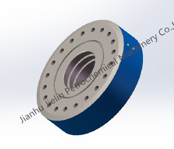 """2-1/16"""" 5m Threaded Flange for Wellhead with API 6A"""