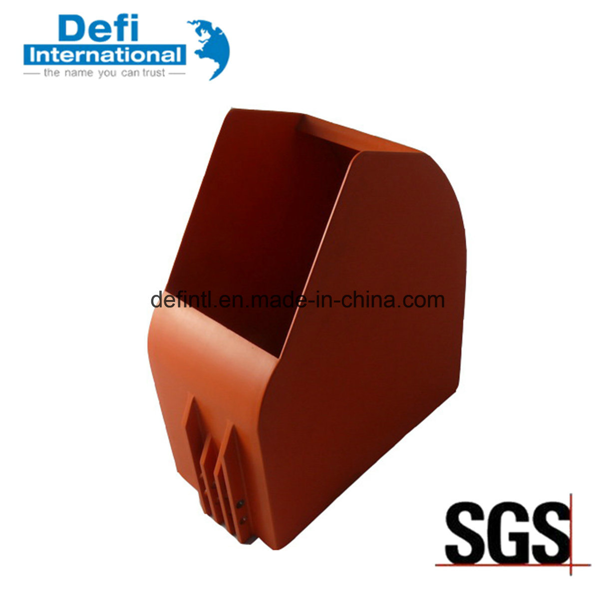 Red Plastic Container for Storage