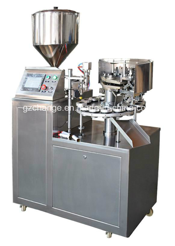 Semiautomatic Aluminum Tube Filling and Sealing Machine