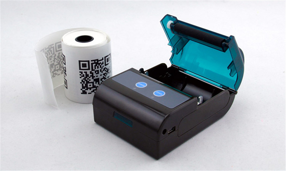 Zkc 5804 58mm Mini Portable WiFi Bluetooth Airprint Ticket Sticker Receipt Thermal Printer