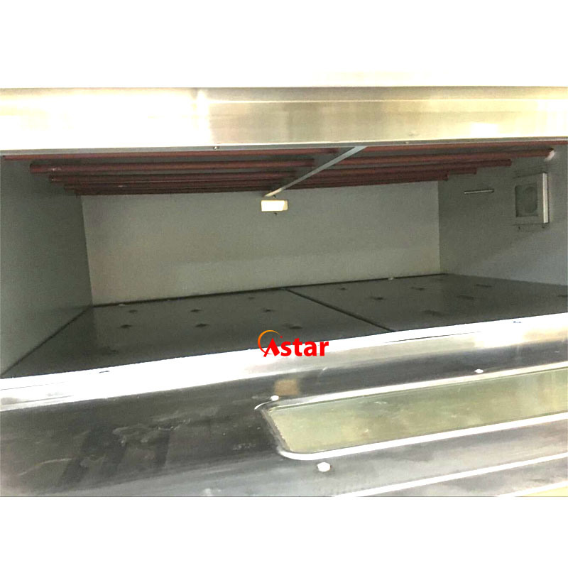 2 Decks 4 Trays Commercial Gas Deck Oven Food Equipment Bakery Cake Baking Machine