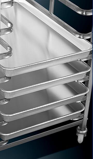 Bread Shelf Trolley for Bakery (15)