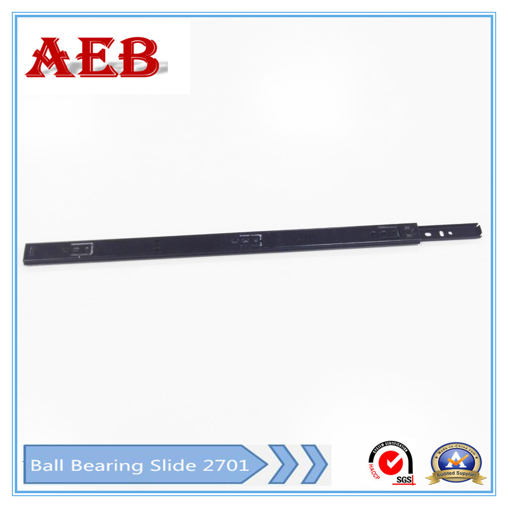 Aeb-27mm Single Extension Ball Bearing Drawer Slide