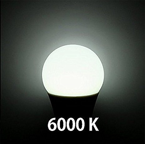 LED Light Lamp A60 10W Globe E26 E27 AC100-240V SMD LED Bulb, Cool White