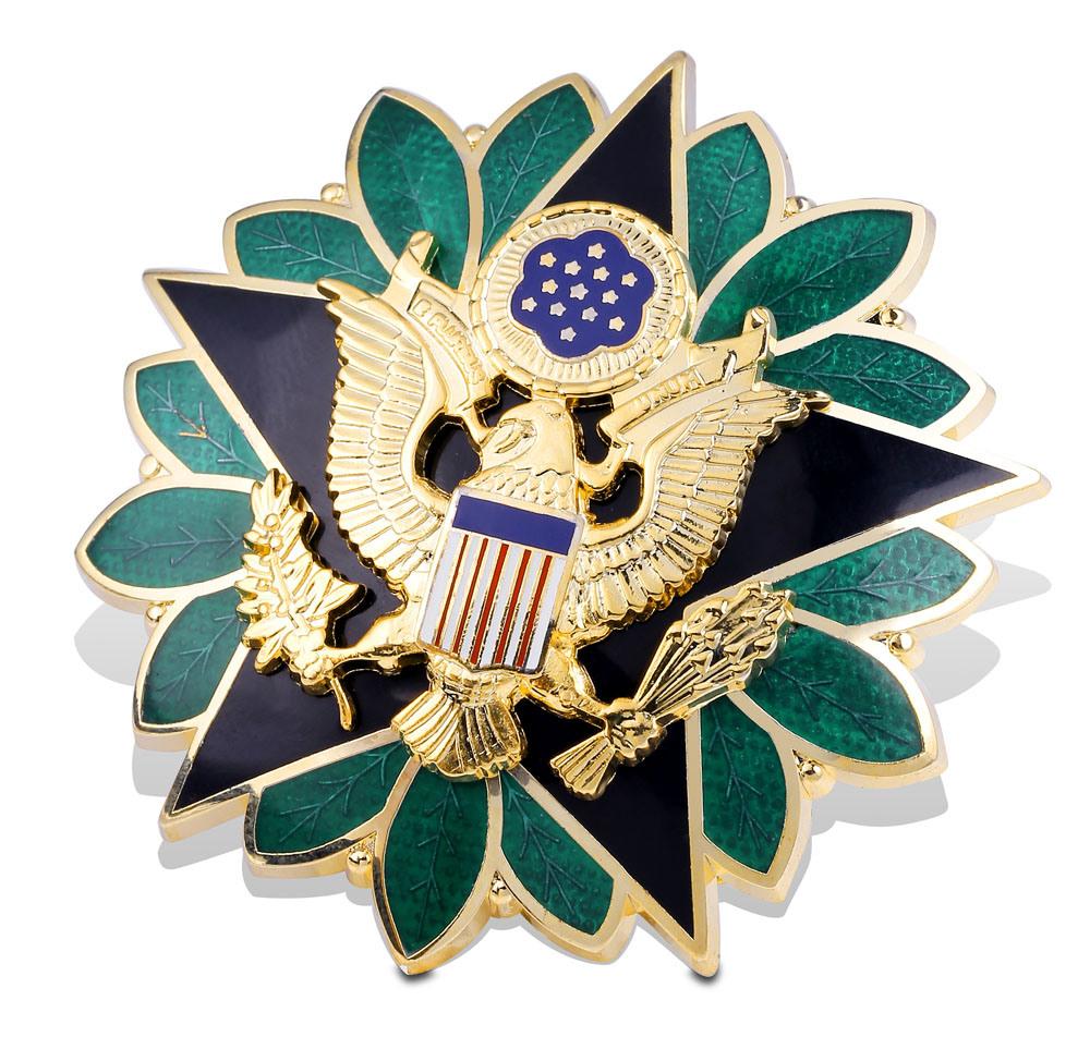 Supply Cheap Custom Pin, Metal Police Badge (GZHY-BADGE-003)