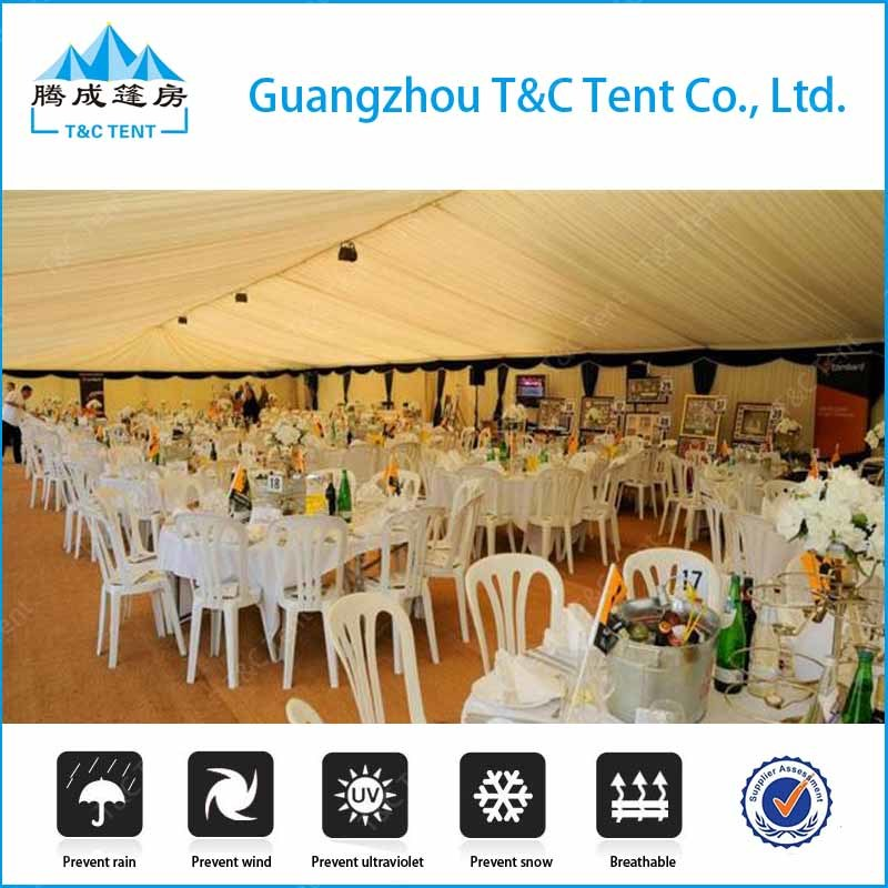 30X60m Large Outdoor PVC Wedding Party Marquee White Tent for Sale