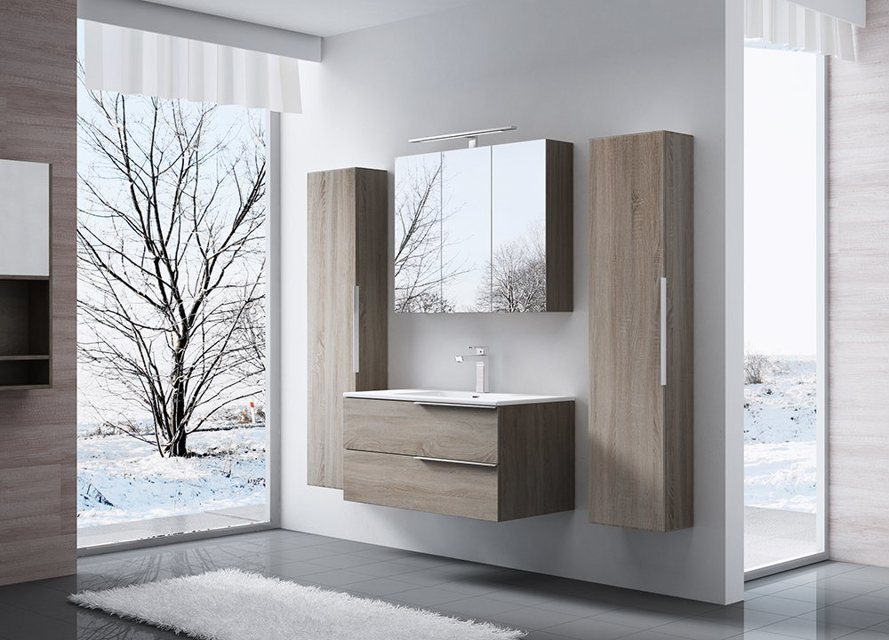 Simple Good Quality Design Bathroom Vanity Cabinet Manufacture