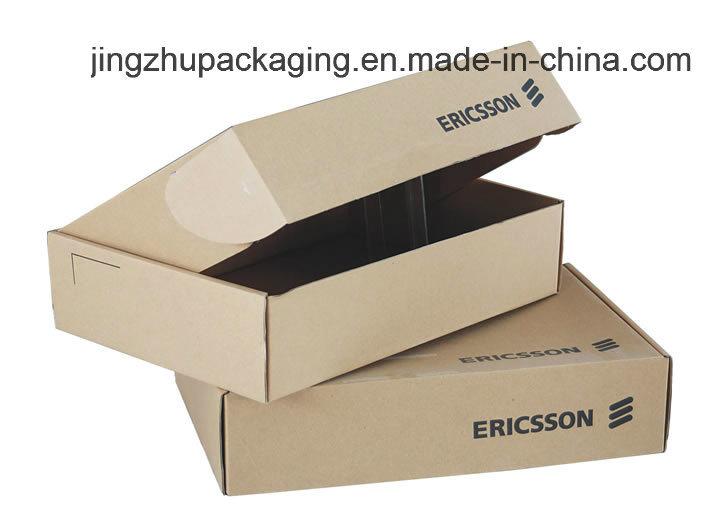 Customized Printing Kraft Packing Paper Cardboard Box