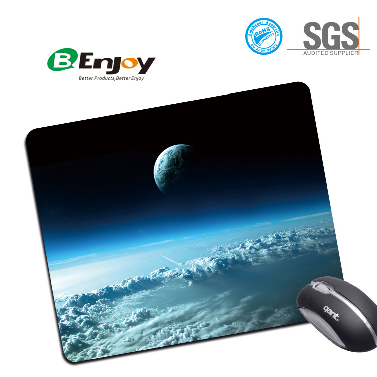 Non Slip Rubber Base Customized Mouse Pad Mousepad