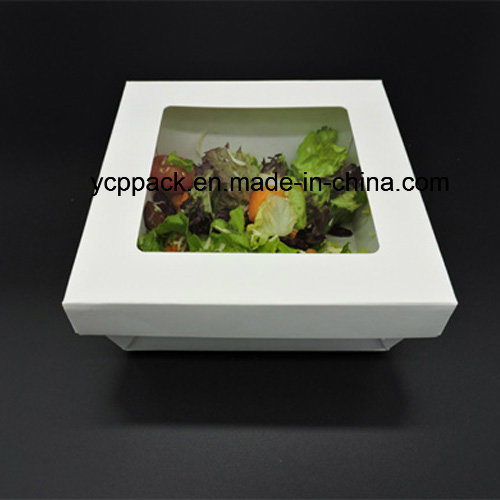 Disposable Waterproof Salad Paper Boxes