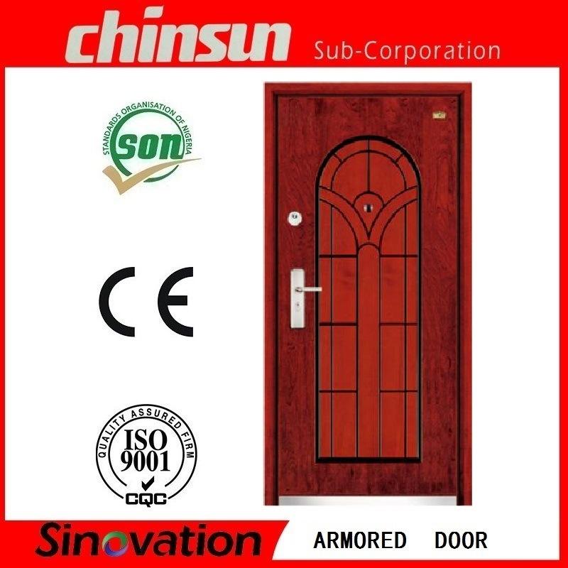 Hot Selling Steel Wooden Armored Door