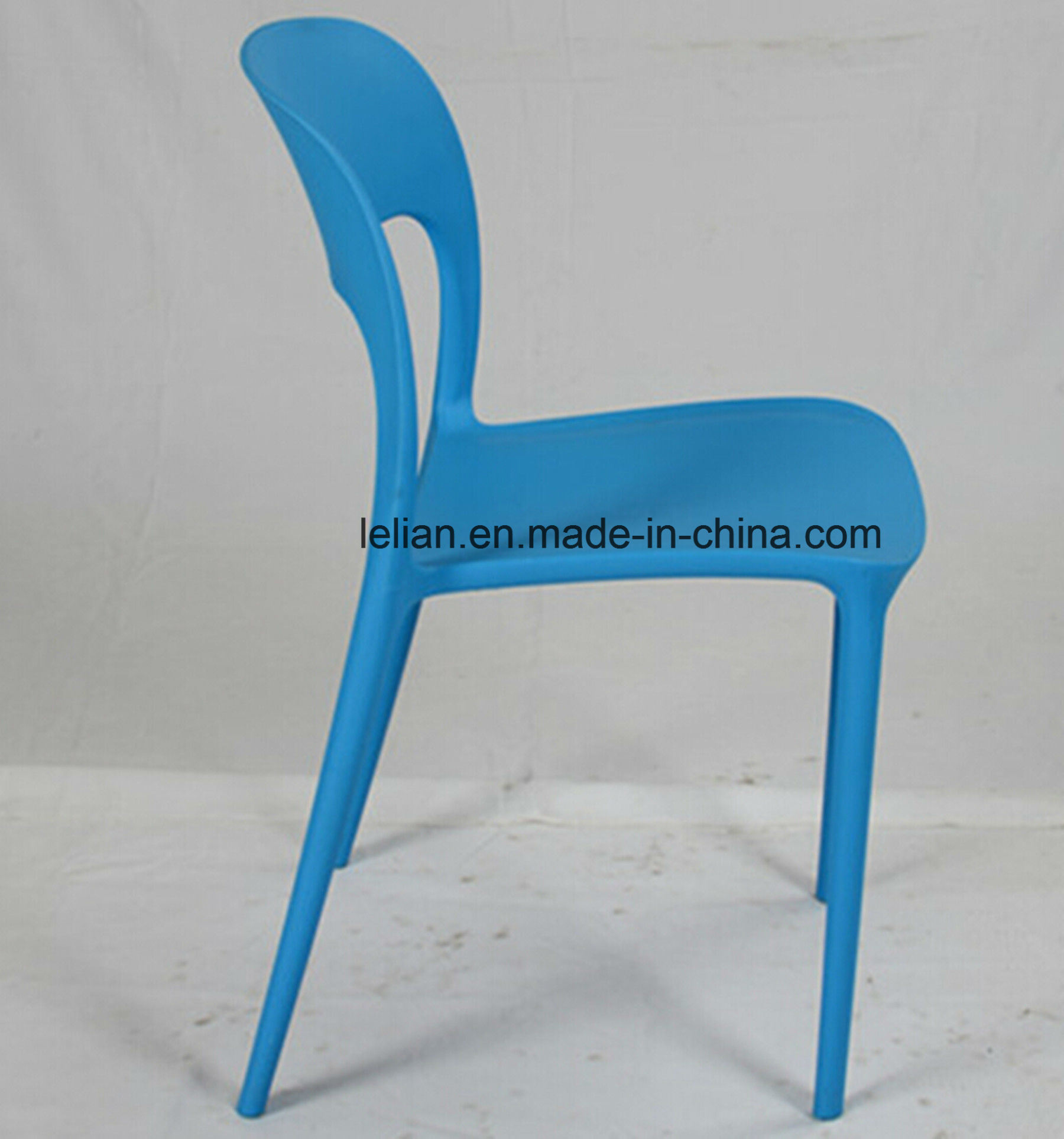 Moulded PP Plastic Dining Chair, Outdoor Side Chair (LL-0063)