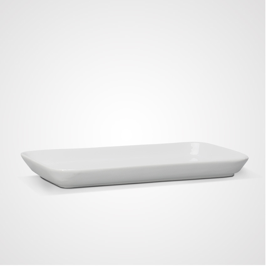 Mobile Porcelain Restaurant Rectangular Plates for Wholesales