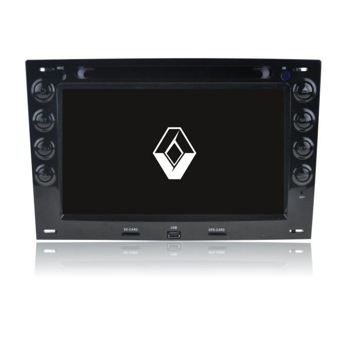 Renualt Megane 1 2012 Car Navigation System Android 5.1 with Built-in WiFi DAB Mirror Link TPMS
