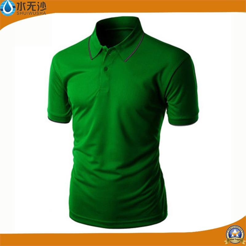 Factory Wholesale Men Polo Shirts Stretch Cotton Pique Polo T-Shirts