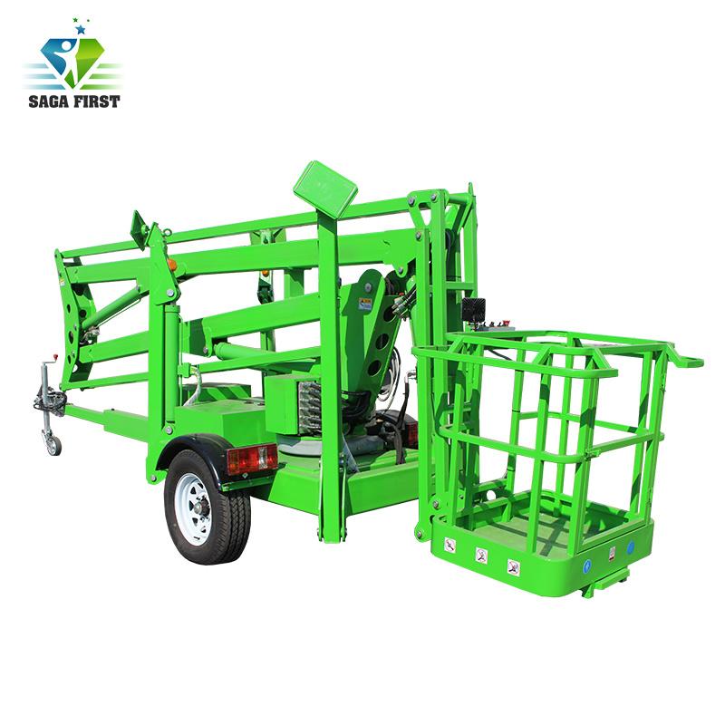 Hydraulic Aerial Work Platform Towable B...