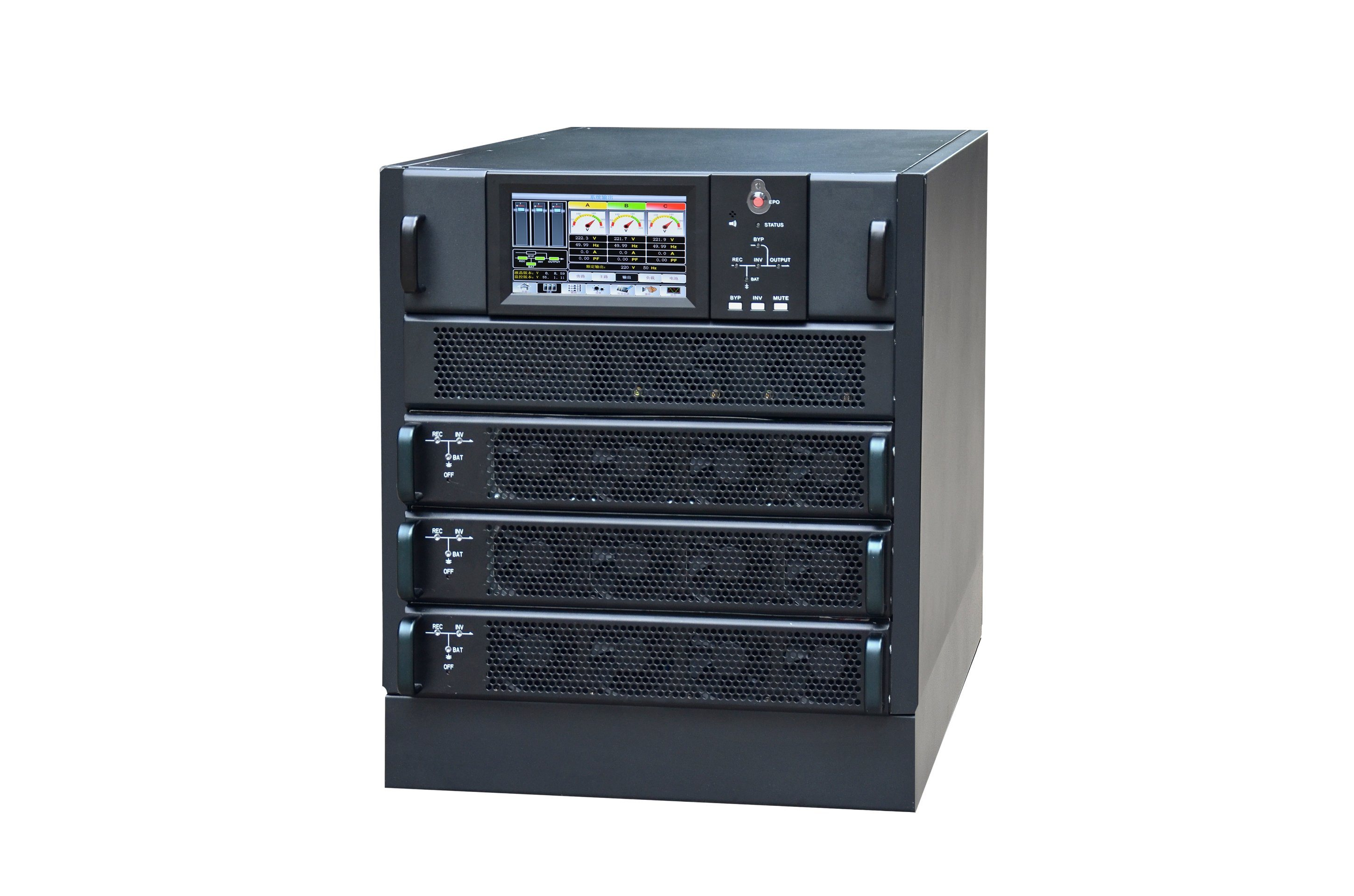 Sun-M Series Modular Online Power Bank UPS 30-60kVA