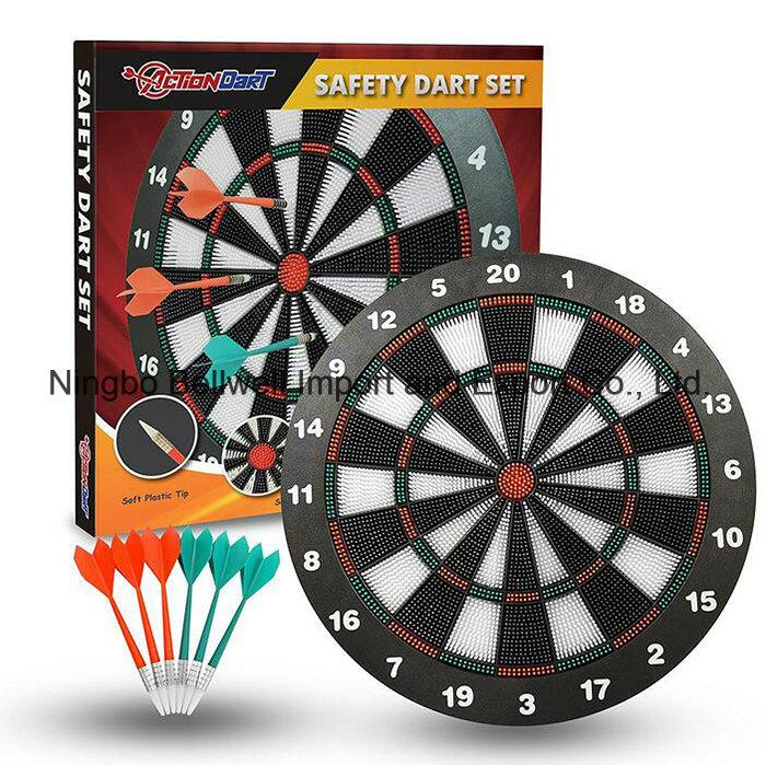 16inch Soft Tip Darts and Dart Board Set