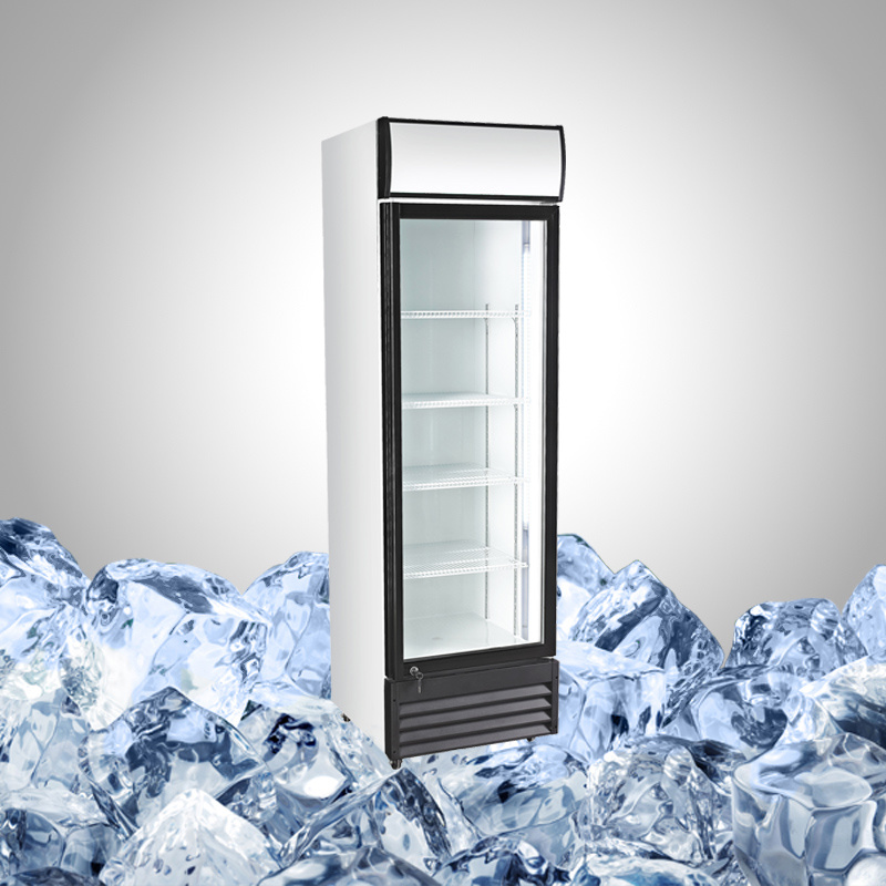Commercial Display Fridge with Single Glass Door
