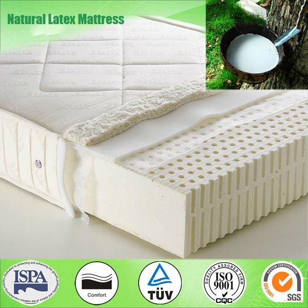 Roll up 100% Natural Latex Mattress