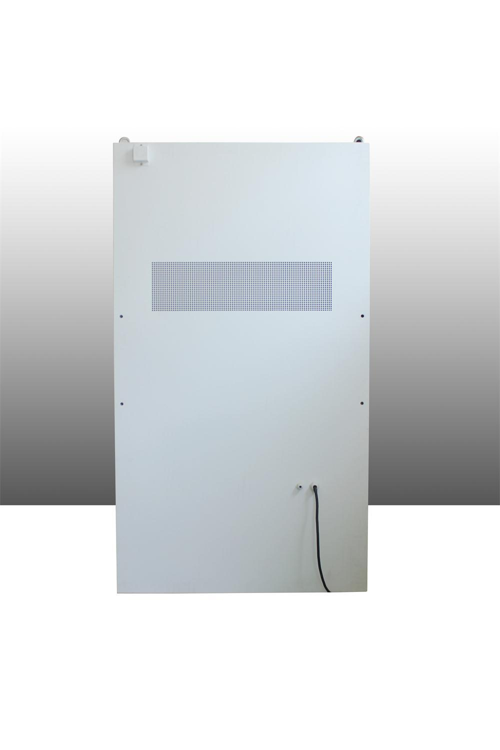 55-Inch Outdoor Wall-Mounted LCD Display with Super Brightness