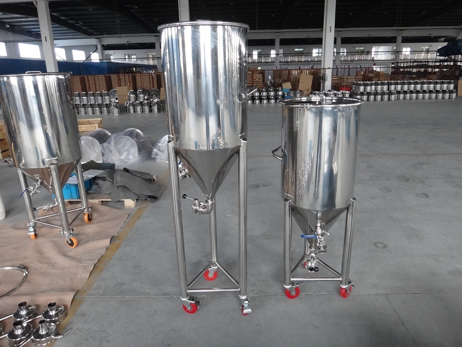 Stainless Steel Conical Fermenter and Fermentation Tank