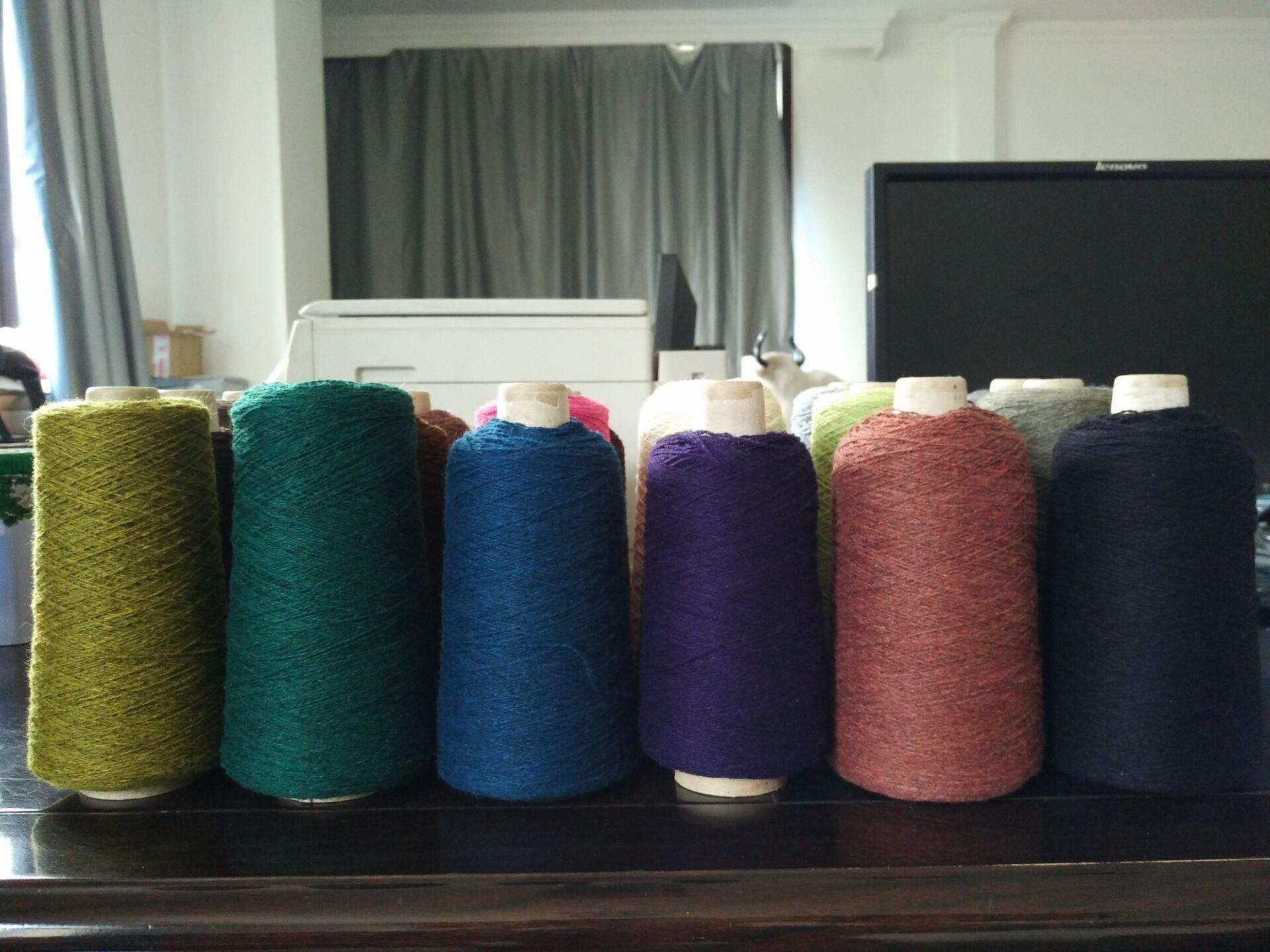 Yak Folded/Decoloration/Dyded/Knitting Yarn