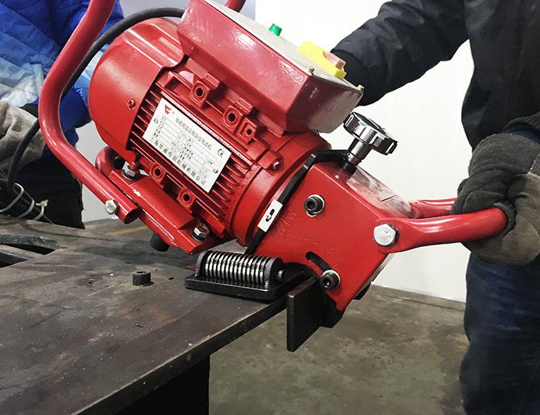 Pqx-15 Plate Pipe Beveling Welding Prepared Machine