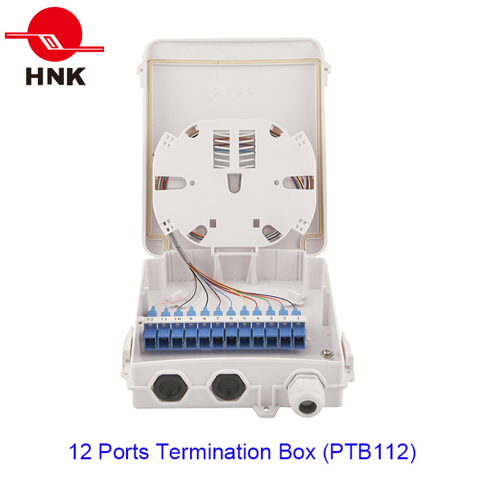 12 Ports Fiber Optic Cable Termination Box (PTB112)
