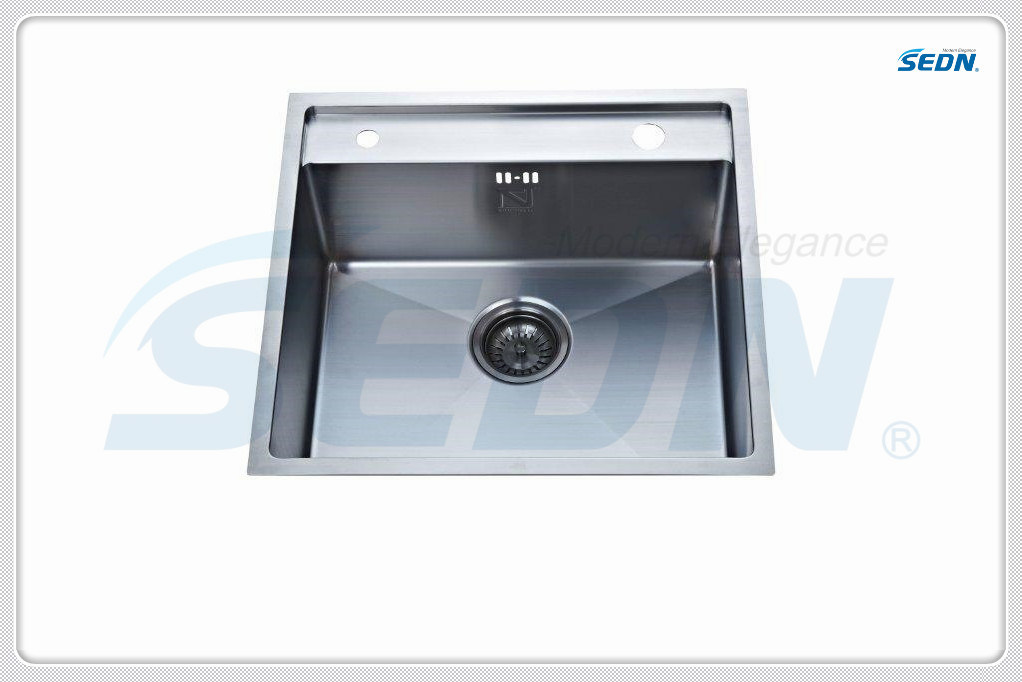 Handmade Stainless Steel Single Bowl Sink (SB1022)
