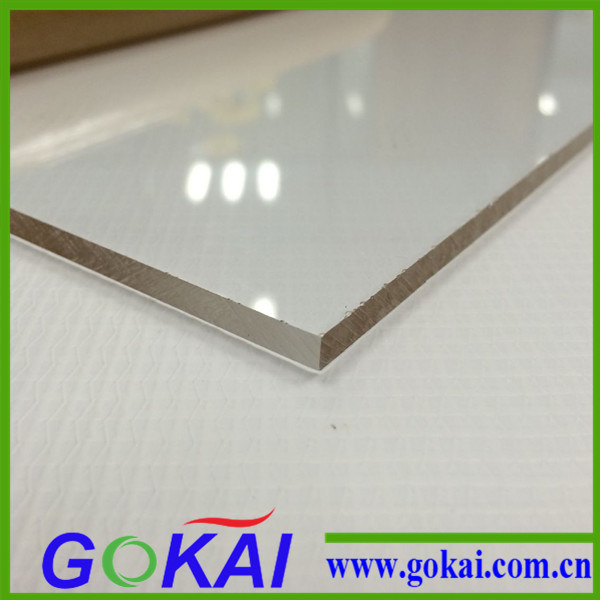 Gokai Supply Competitive Easy Clean Transparent Acrylic Sheet Price