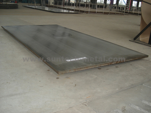 Clad Plate Stainless Steel + Carbon Steel Expolisive Clad